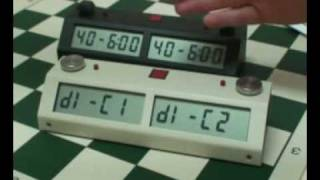 How to set the Chronos Chess Clock II