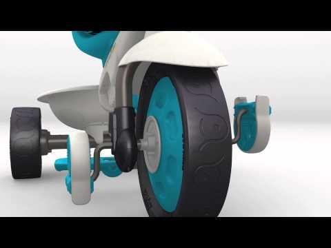 Велосипед трехколесных Smart Trike Dream Touch Steering