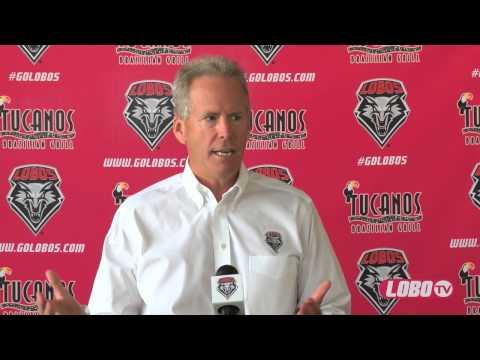 2013 Lobo Football   Tuesday Media Luncheon: Coach Bob Davie