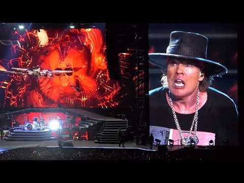 Guns N' Roses - Paradise City - Tallinn 16.7