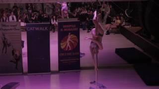 Галкина Анна - Catwalk Dance Fest VIIl [pole dance, aerial] 16.04.17.