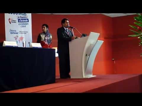 UCV Lima-Norte, 30.05.2014. PRONABEC, Becas Internacionales.