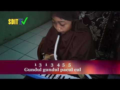 GUNDUL-GUNDUL PACUL (Lirik & Not Lengkap) || Tembang Dolanan (Lagu Anak Indonesia Terbaru 2017)