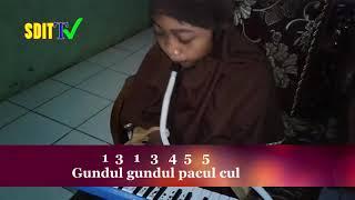 GUNDUL-GUNDUL PACUL (Lirik & Not Lengkap) || Tembang Dolanan (Lagu anak indonesia Terbaru )