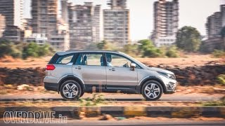 2017 Tata Hexa automatic road test review | OVERDRIVE