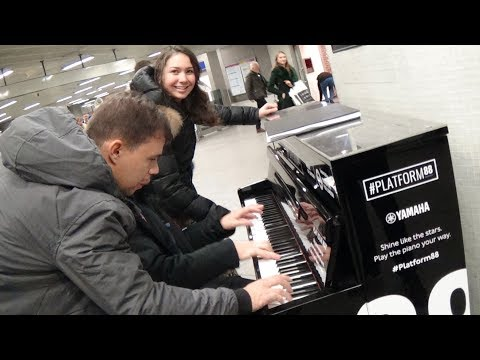 Pranking Classical Music Students at a Street Piano - YouTube