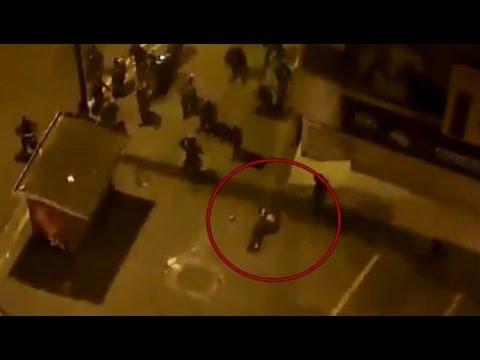 Protester Shot By Police In Venezuela 19 February 2014 #PrayForVenezuela