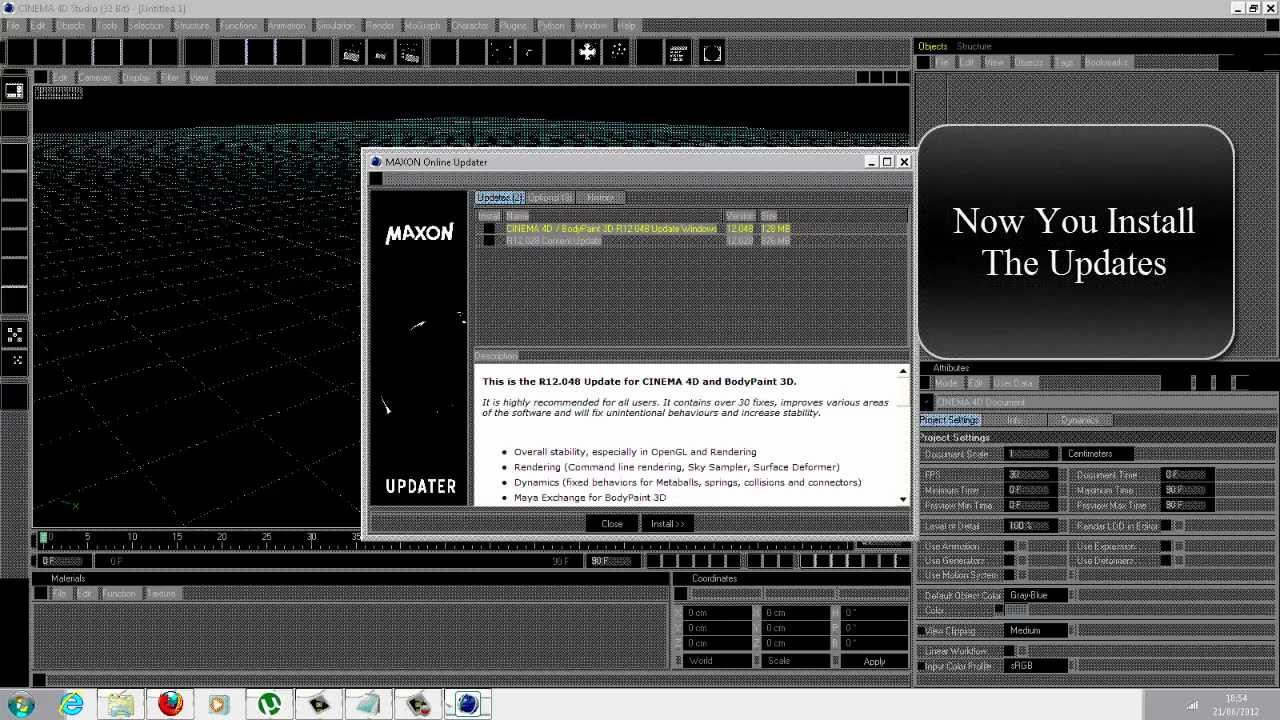 How To Download Cinema 4D R12 For Free & Windows 7 Error Fix