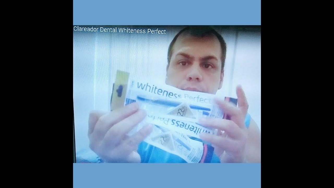 Clareador Dental Whiteness Perfect Youtube