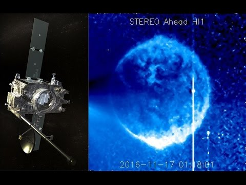 Mysterious blue sphere spotted zooming past Sun by NASA satellite - IBTimes India