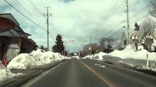 国道279号 青森県野辺地町→むつ市・大湊