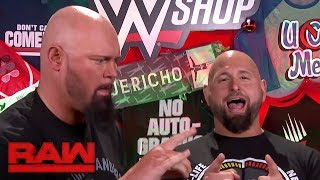 Luke Gallows & Karl Anderson begin the countdown to Black Friday on WWEShop.com: Raw, Nov. 20, 2017