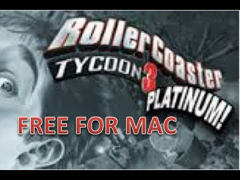 Download game RollerCoaster Tycoon 3 Platinum (Mac) right now