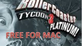 How get Rollercoaster Tycoon 3 Platinum for Mac OS X [Soaked and Wild] [FREE]