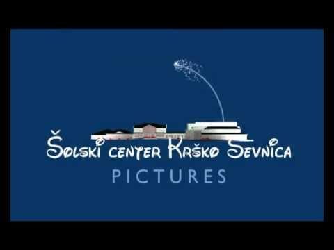 Walt Disney logo(Šolski center Krško Sevnica)