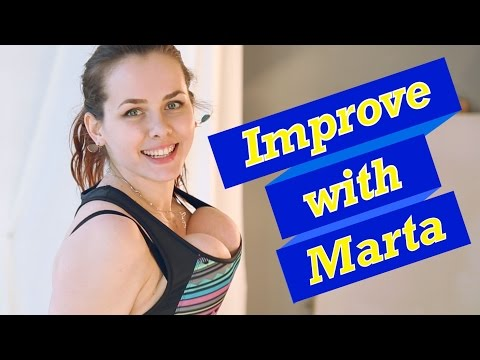 Jump with rope on Window - Improve With Marta