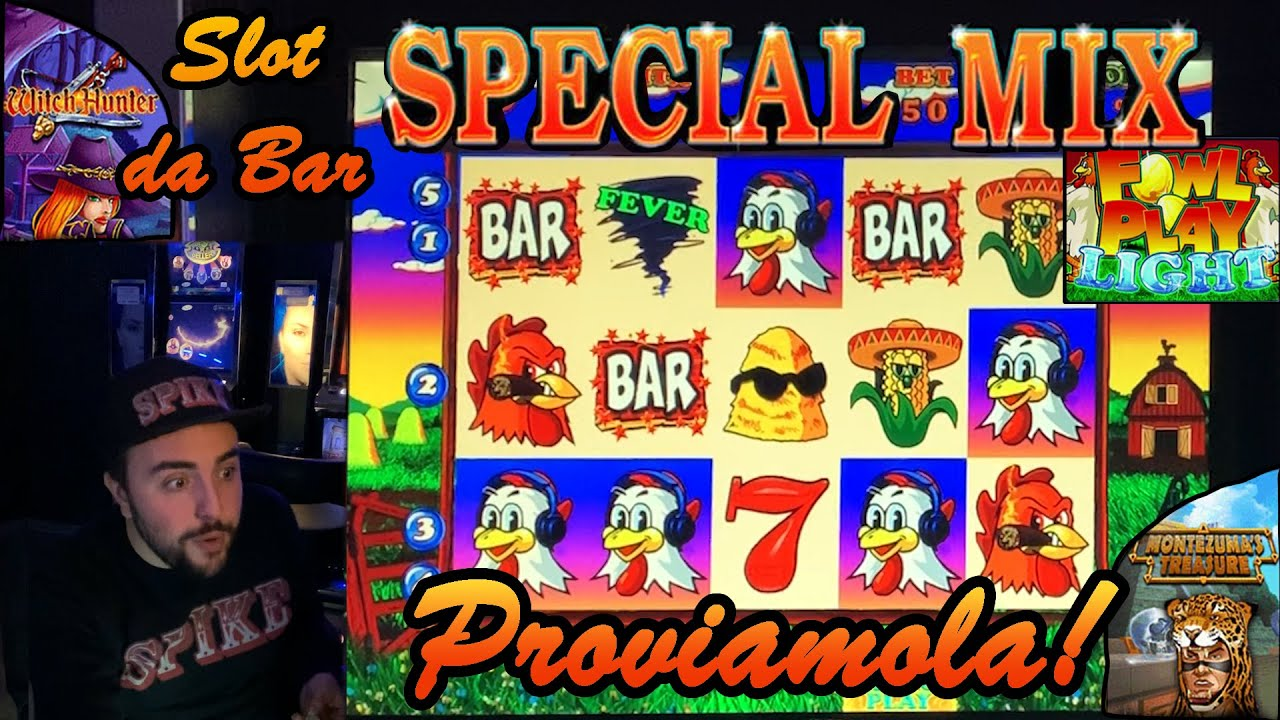 SLOT MACHINE da BAR - Proviamo la SPECIAL MIX???????? (Multigioco MAG Elettronica)