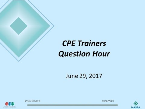 CPE Questions Hour