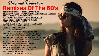 80's Greatest Hits  Remixes Of The 80's Pop Hits  80's Playlist Greatest Hits  Best Songs Of 80's