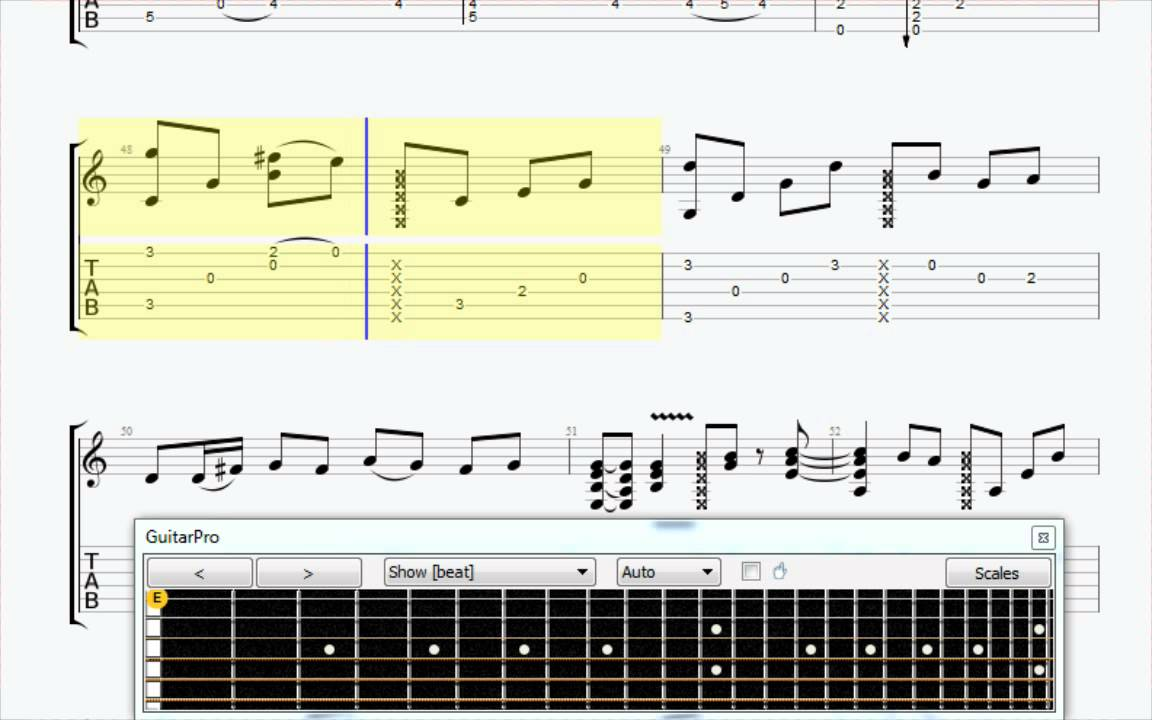 Still Loving You Fingerstyle Guitar Tab Youtube