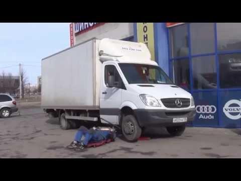 Промывка сажевого фильтра на авто Mercedes Benz Sprinter.Промывка сажевого фильтра. в