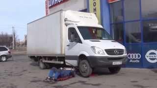 Промывка сажевого фильтра на  авто Mercedes-Benz Sprinter.Промывка сажевого фильтра .в