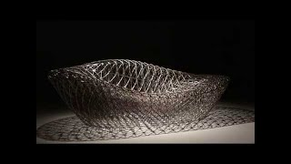 3D printed lounger chair by 3D Systems' Janne Kyttanen