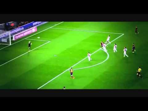Neymar Goal barcelona Football 2014