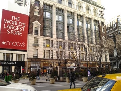 A Quick Stop at Macy's Herald Square NYC