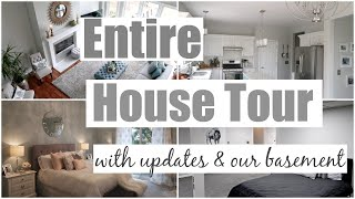 UPDATED HOUSE TOUR 2019 with Home Updates and Basement Tour | How Jen Does It House Tour