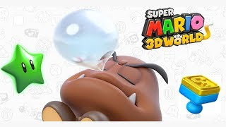 Super Mario 3D World - World Flower 4 Walkthrough - Faster Fort Fire Bros