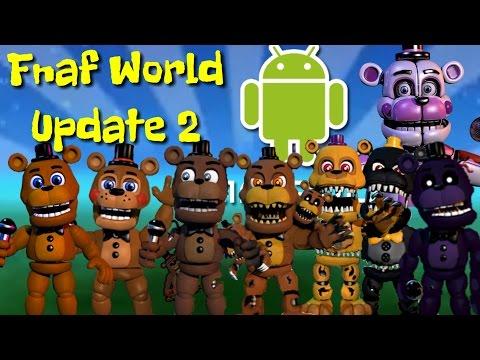 Descarga FNAF World Para Android Update 2!!! (Link ...