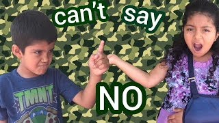 If Kids Were In Charge | Can't Say No