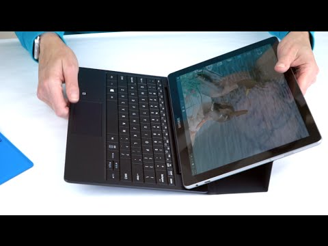 "Samsung Galaxy TabPro S Review- 12"" Windows 2-in-1 AMOLED Tablet"