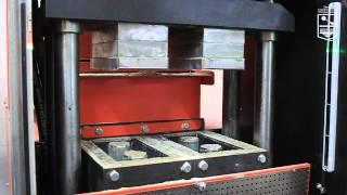 Лего кирпич оборудование Булава 3А(На видео представлена работа линии по производству лего-кирпича, с производительностью до 3000 штук в смену...., 2015-08-09T14:24:00.000Z)