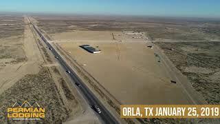 Orla, Texas Gas plant