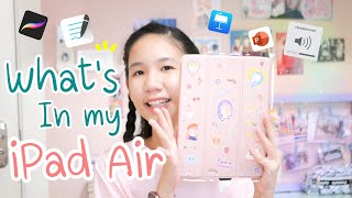 What's in my iPad Air แนะนำแอพจดสรุป วาดรูป เกี่ยวกับการเรียน [Nonny.com]