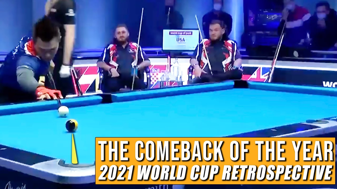 The Comeback of the Year Philippines vs USA | 2021 Pool World Cup Retrospective