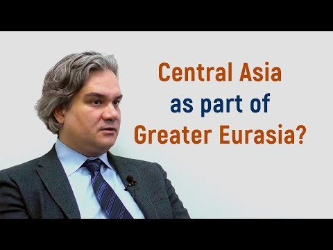 "Alexander Cooley (Columbia University) on the concept of ""Greater Eurasia"""