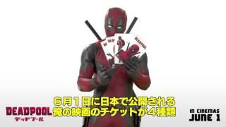 デッドプールから日本のファンに向けたメッセージ映像(GAME Watch) 記...