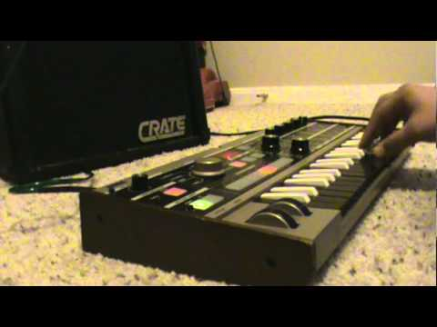 baptism  crystal castles on microkorg