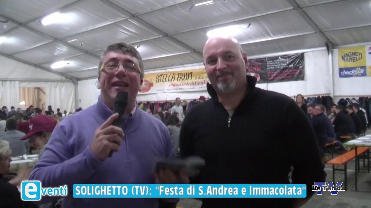EVENTI - Solighetto: Festa di S. Andrea e Immacolata