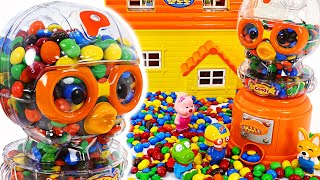 The bad guys stole all the candy! Let's go catch Pororo friends and candy thieves! | PinkyPopToy