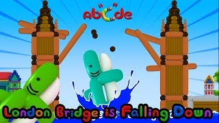London Bridge Is Falling Down | with Lyrics and Karaoke | by Abcde in Balloon World