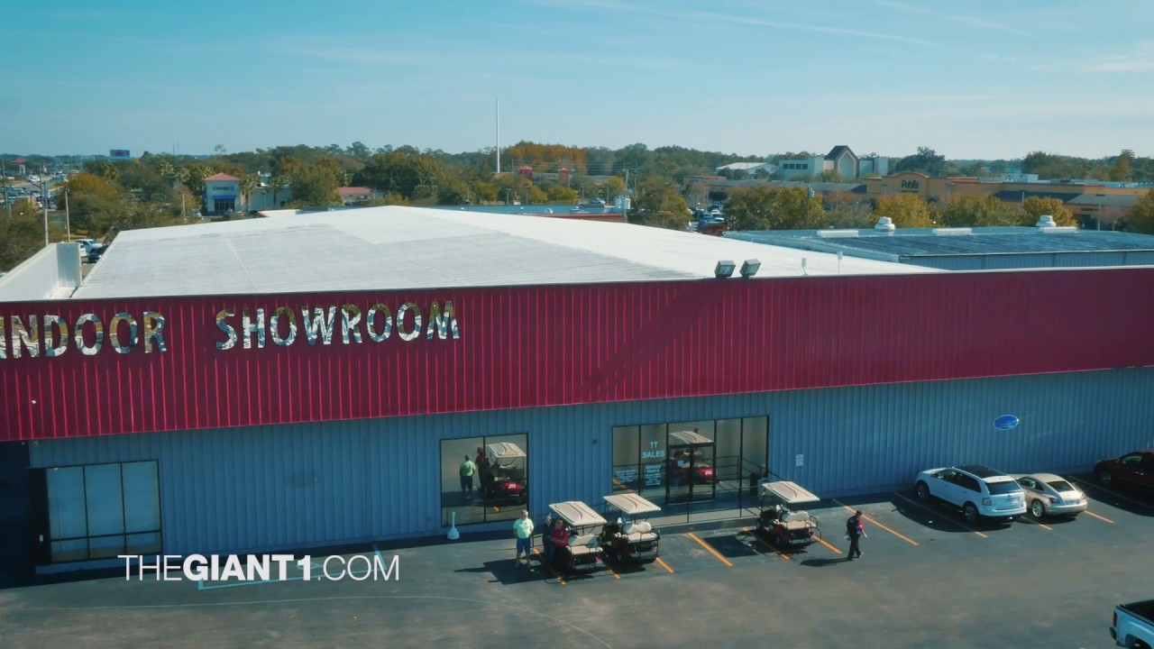 Giant Recreation World Rv Dealer Winter Garden Youtube