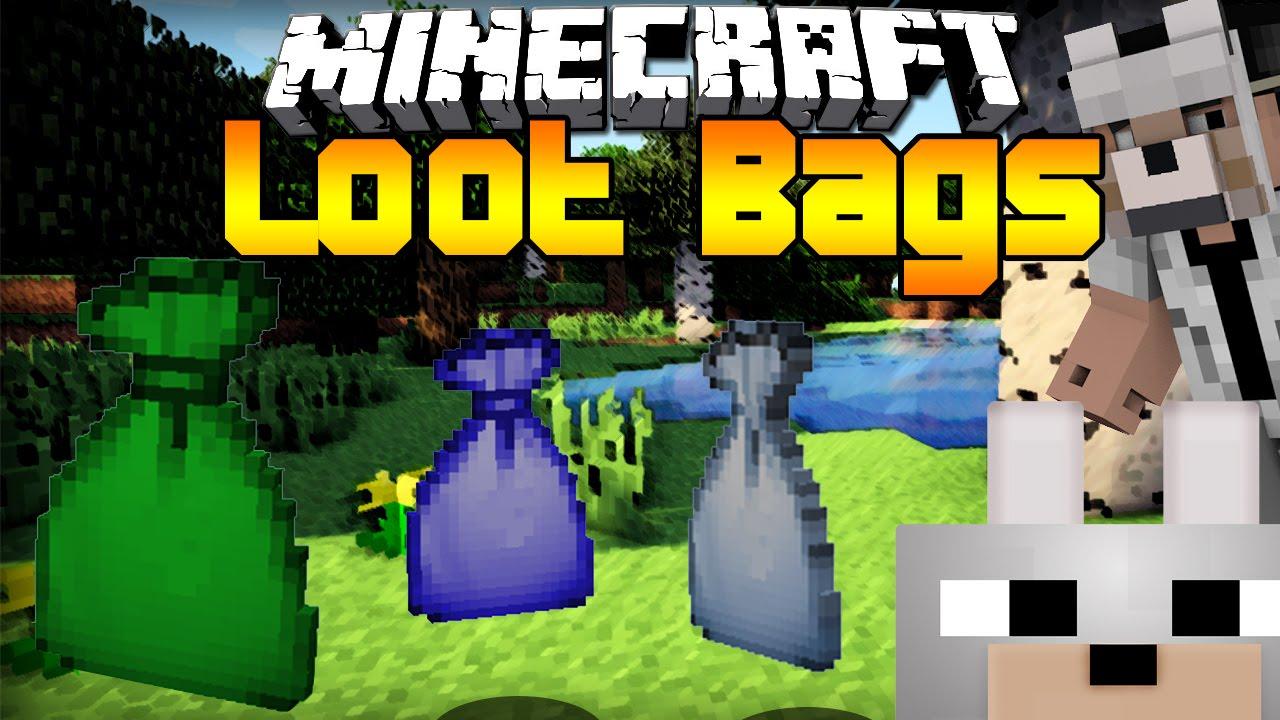 скачать loot bags mod 1.10.2