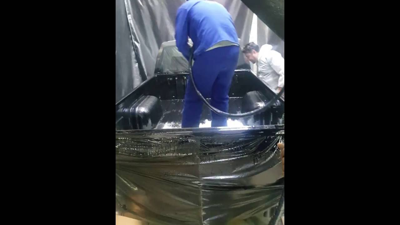 Rubberising Nissan NP300 done by Tuff Guard Amanzimtoti
