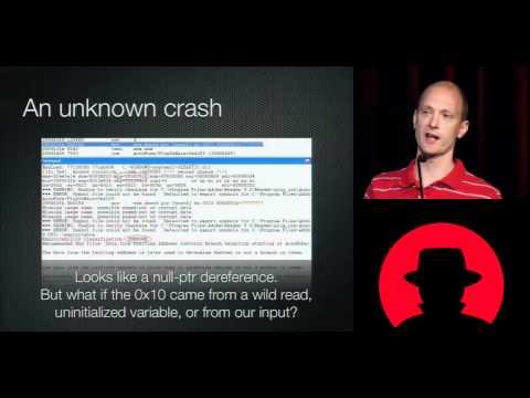 Blackhat 2010   Crash Analysis Using BitBlaze   Charlie Miller Noah Johnson   Part