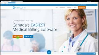 Getting your alberta medical billing account set-up for to health and wellness through hlink. video covers a business arrangement num...