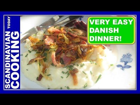 How to Make Delicious Homemade Danish Burning Love Dish ♥ Brændende Kærlighed  ♥